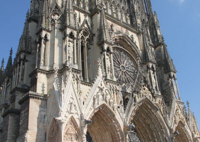 Kathedrale in Reims